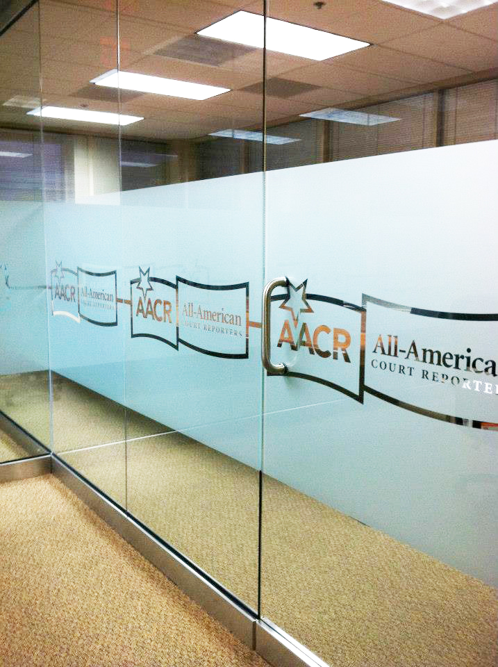 Glass Etch Vinyl Graphics