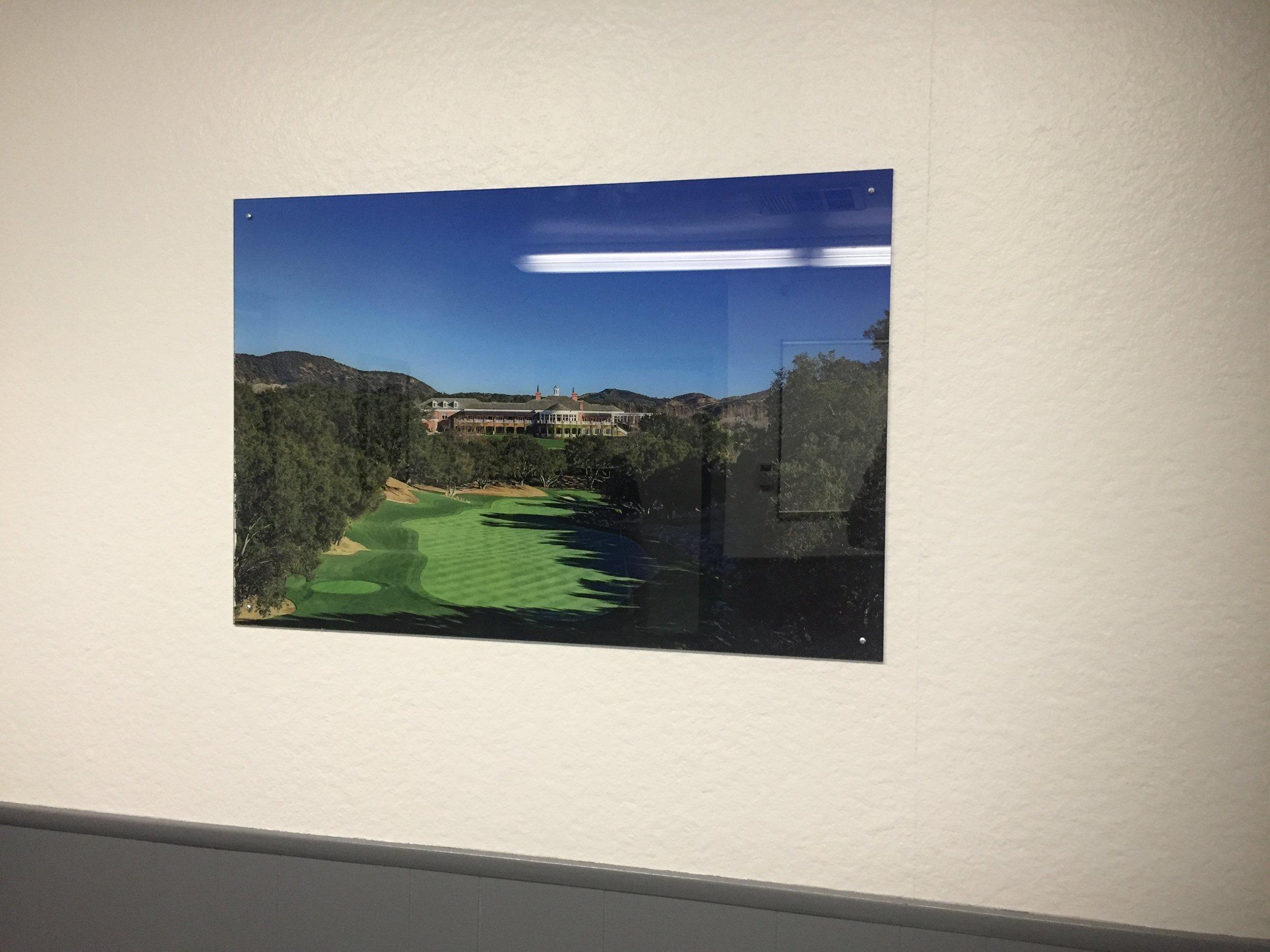 Acrylic Print Lobby Decor
