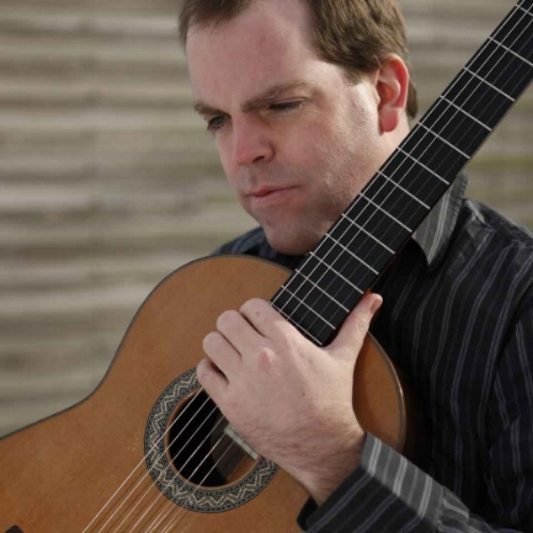 Tim Courtney plays classical guitar