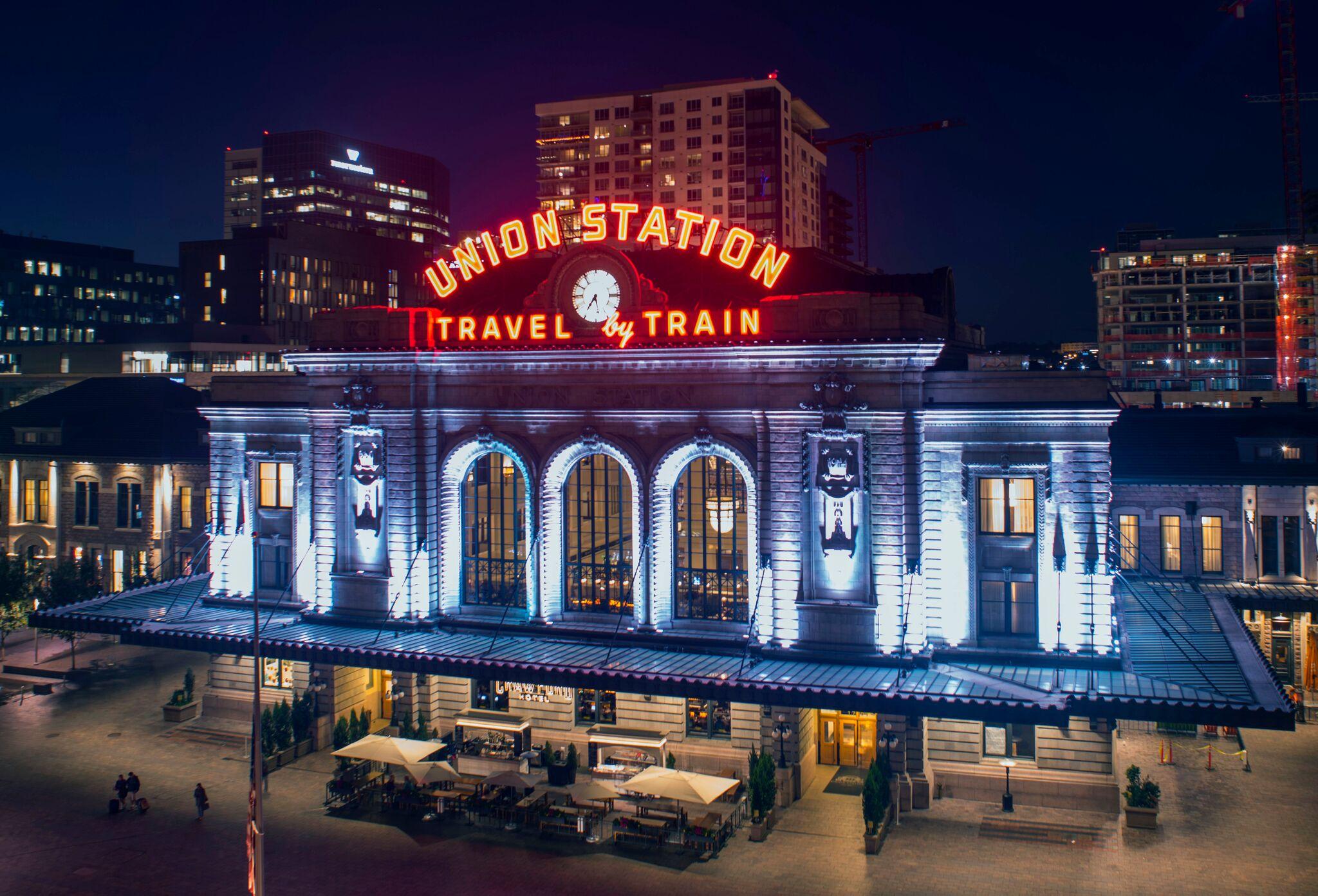 Denver union station city street investors