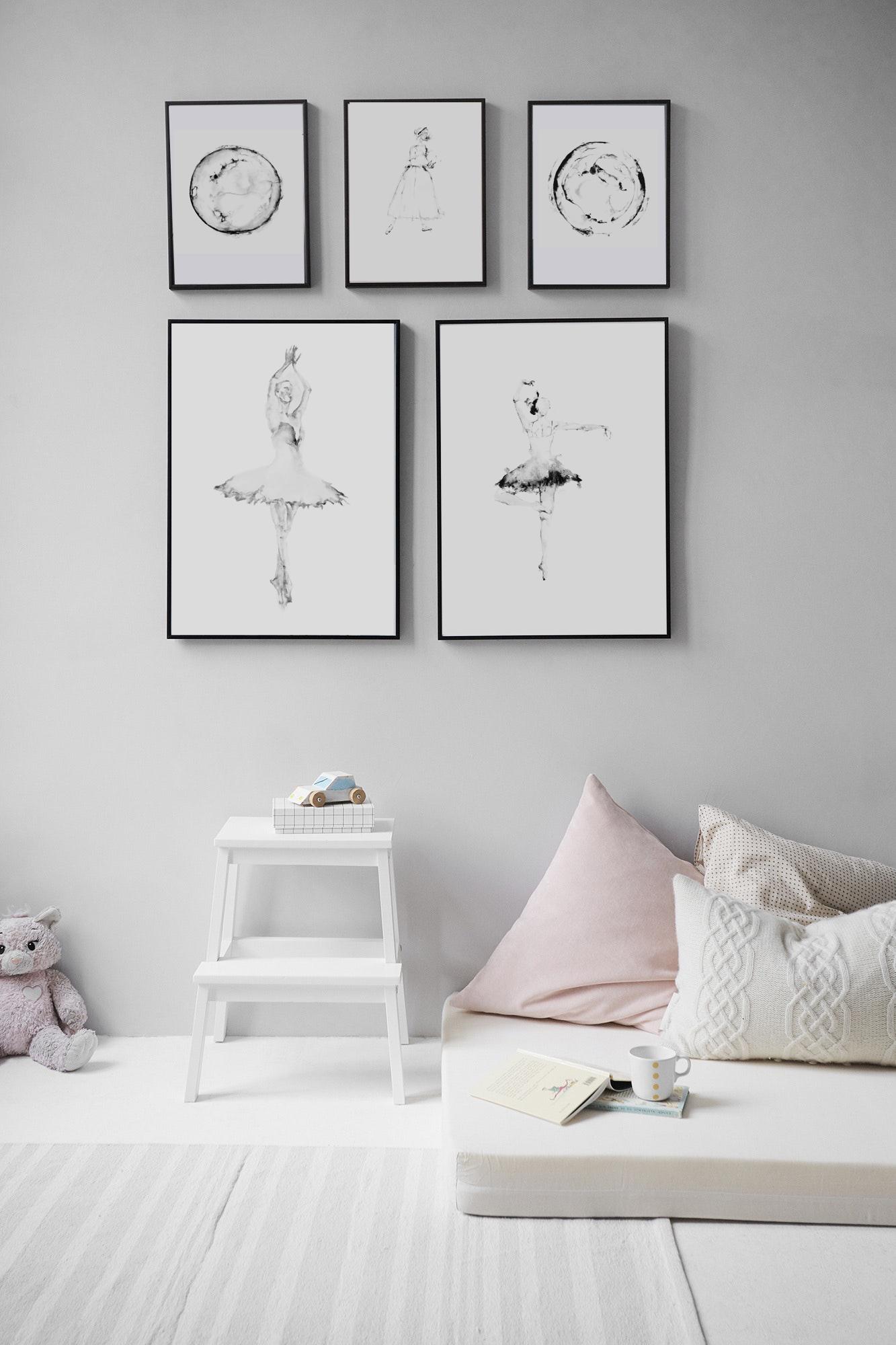 Ballerina Prints by Felipe