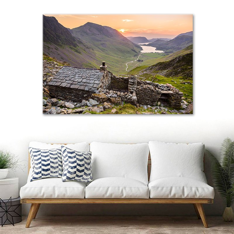 Warnscale Bothy Buttermere Photographic Print by Stuart Swies