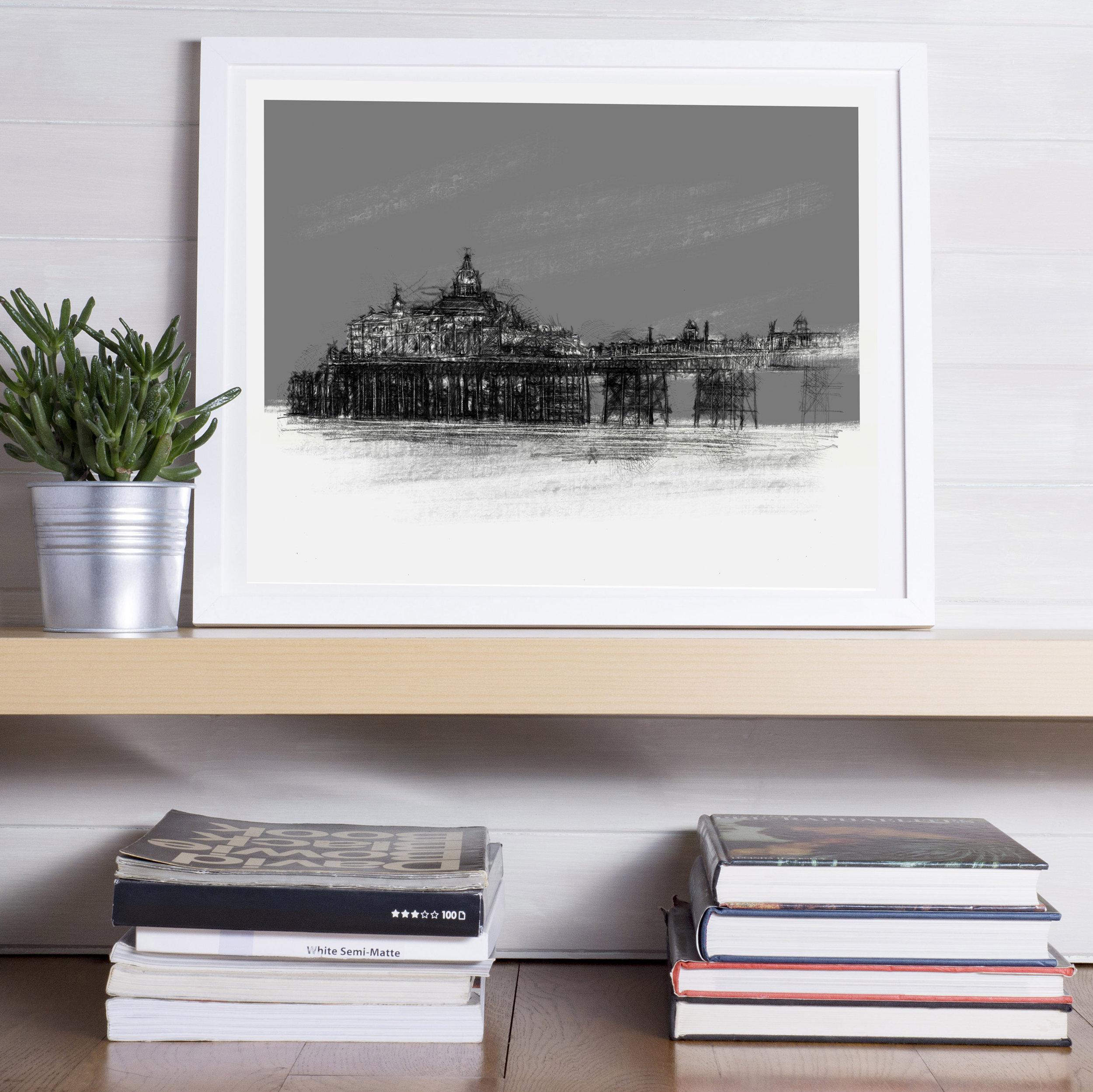 Limited Edition Eastbourne Pier Giclée Print