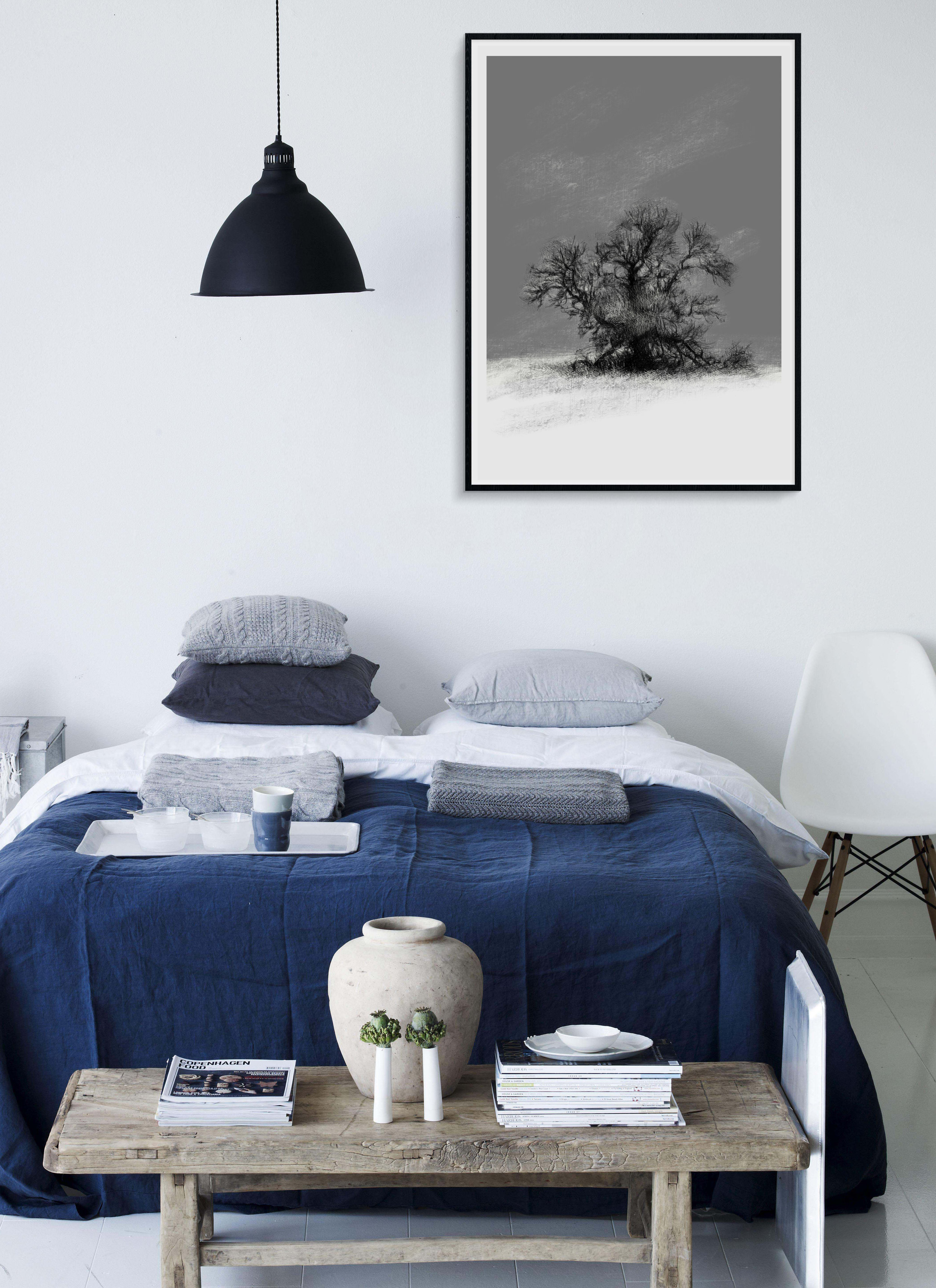 Limited Edition Tree in Frost Giclée Print