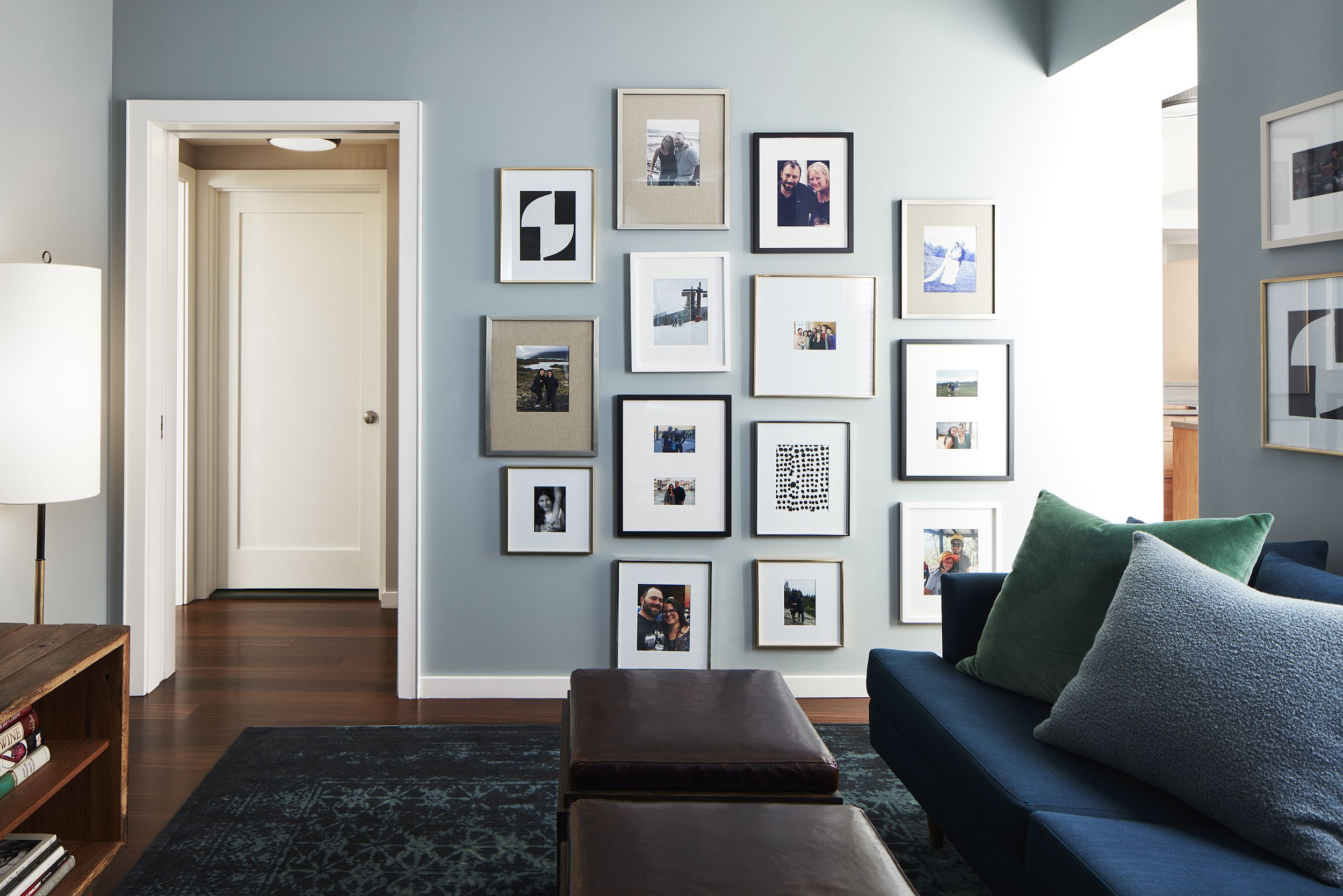 Gallery wall by  House of Funk