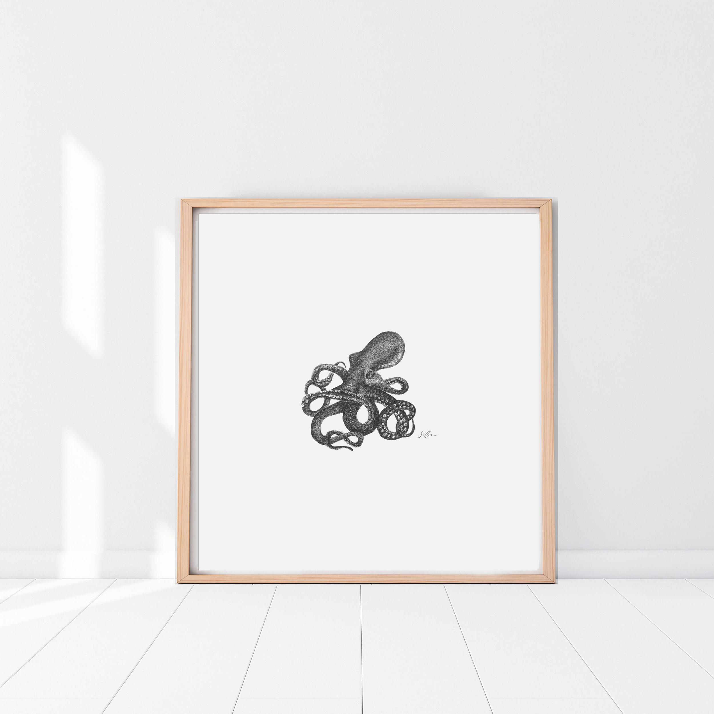 Octopus 2 Framed.jpg