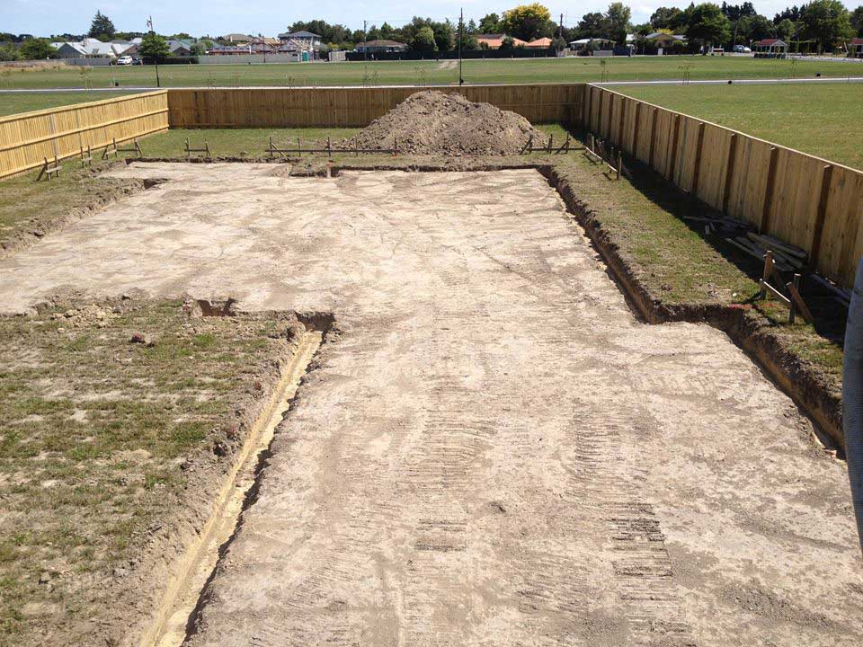 Foundations - Preparation of any type of residential or industrial foundation.