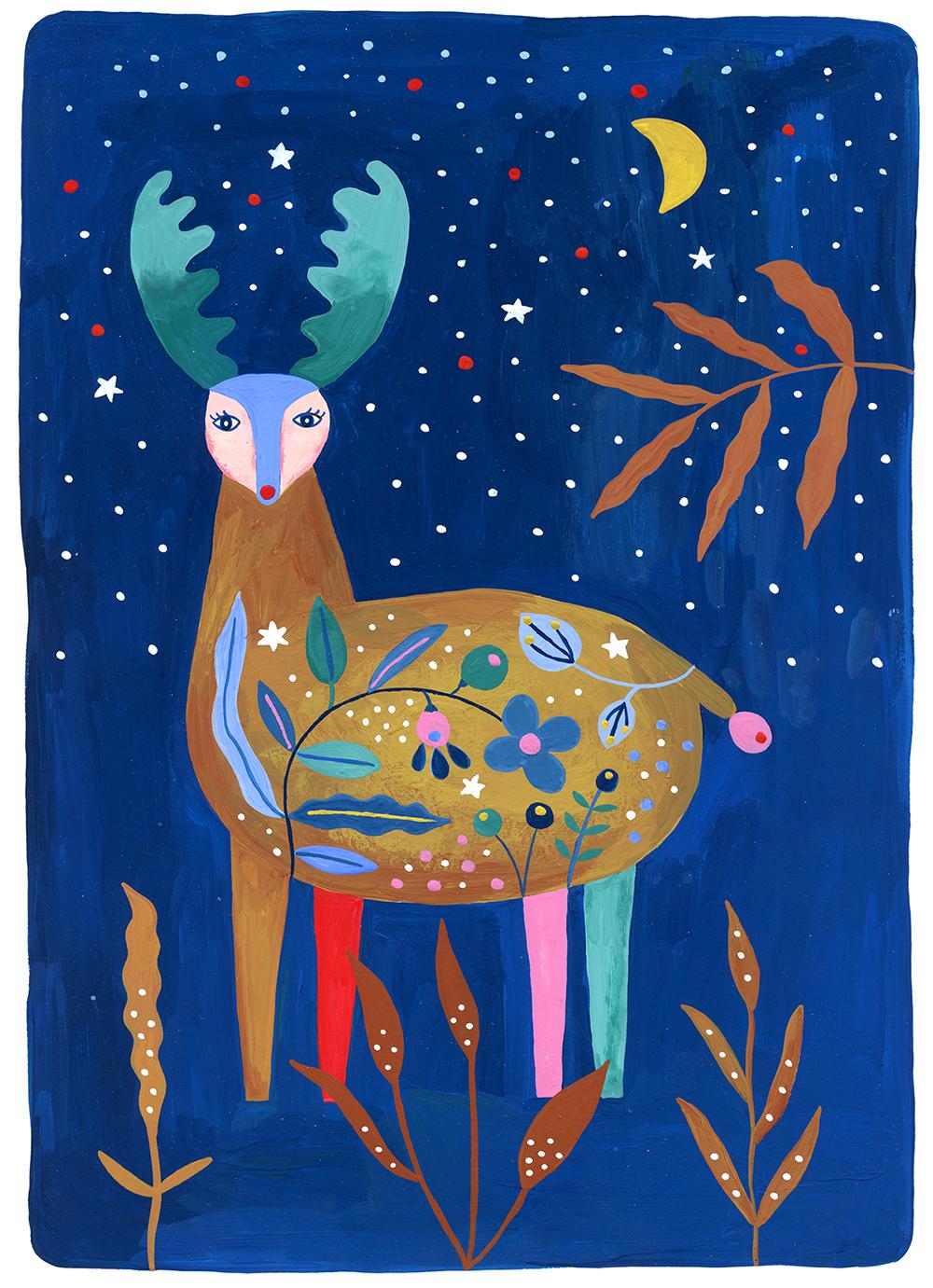 Marenthe illustration Menagerie2018 Reindeer.jpg