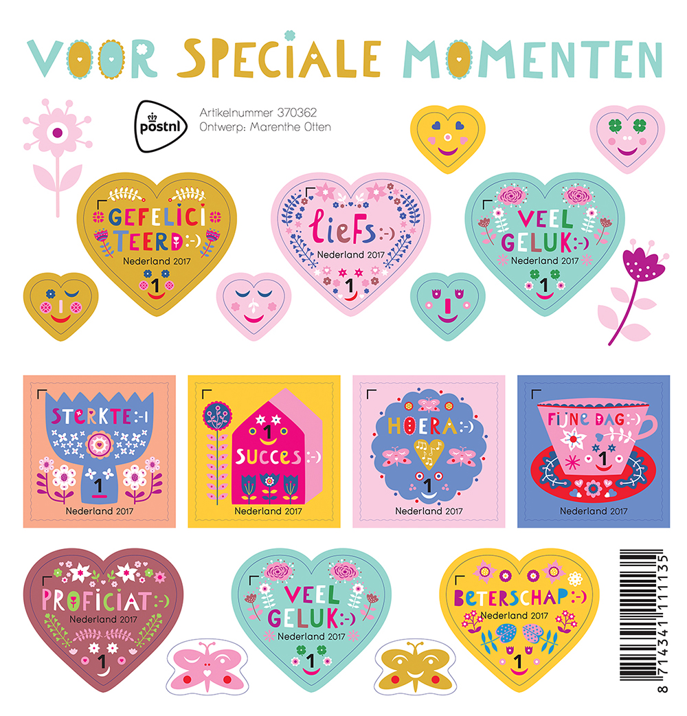 Stamps Post NL by Marenthe.jpg