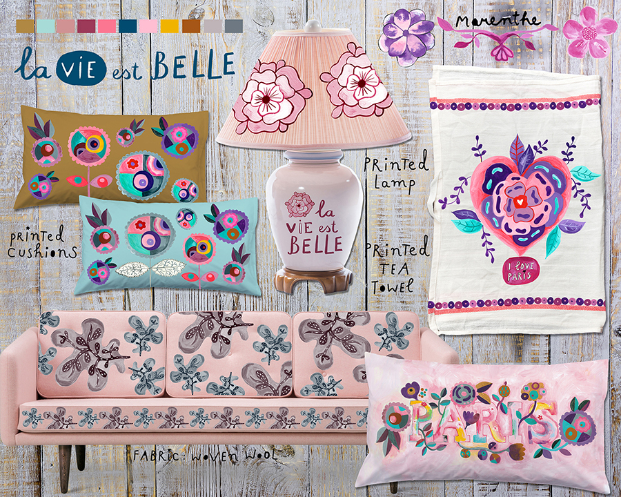 Marenthe Paris Love Nest Collection Home Decor fabric.jpg