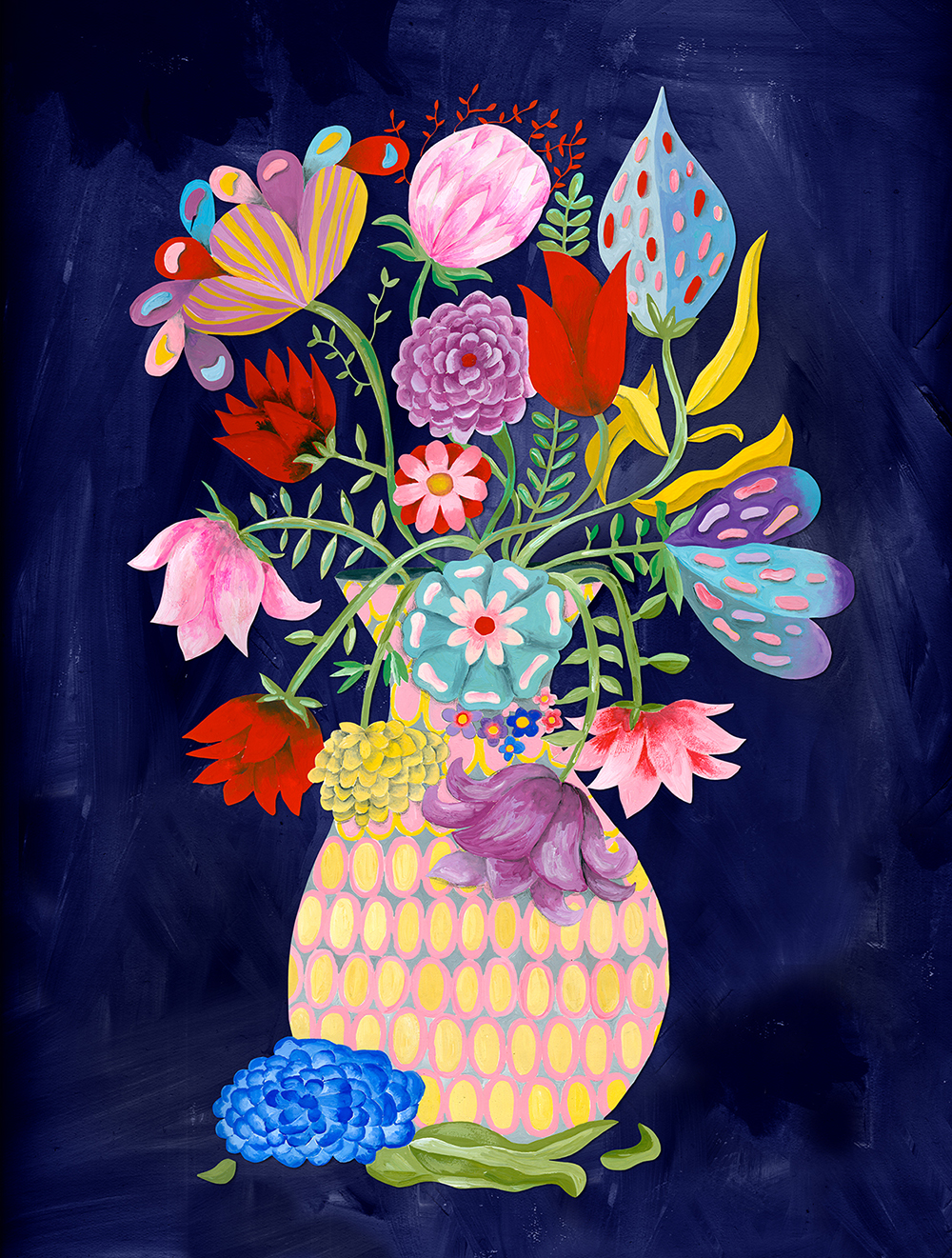 Bouquet of Flowers for Trader Joe's by Marenthe.jpg