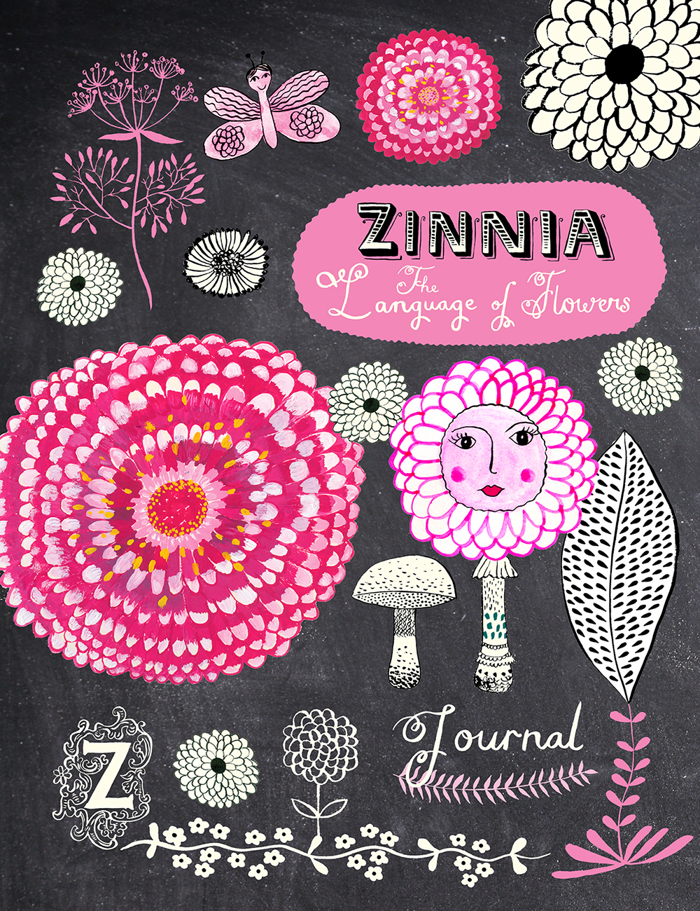 Zinnia collection journal cover by Marenthe.jpg