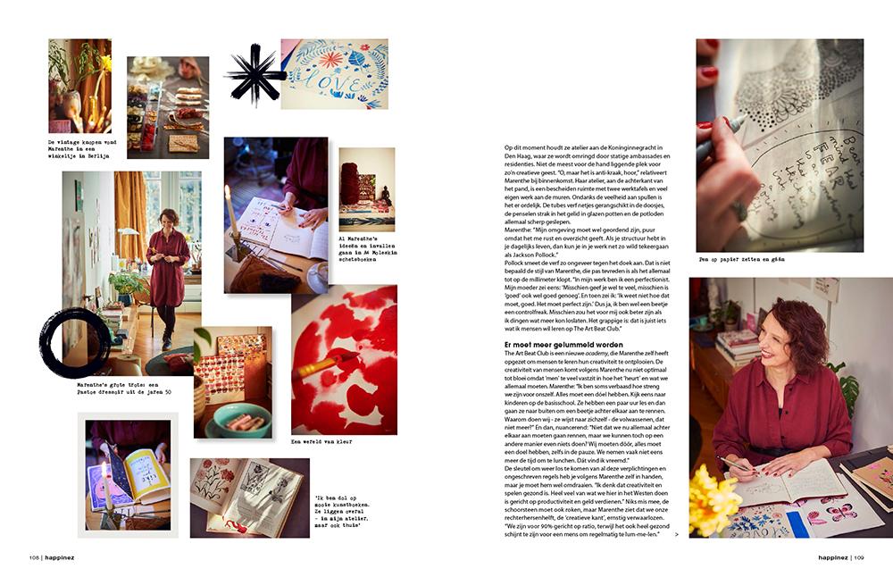 pagina 2 Happinez Marenthe interview.jpg