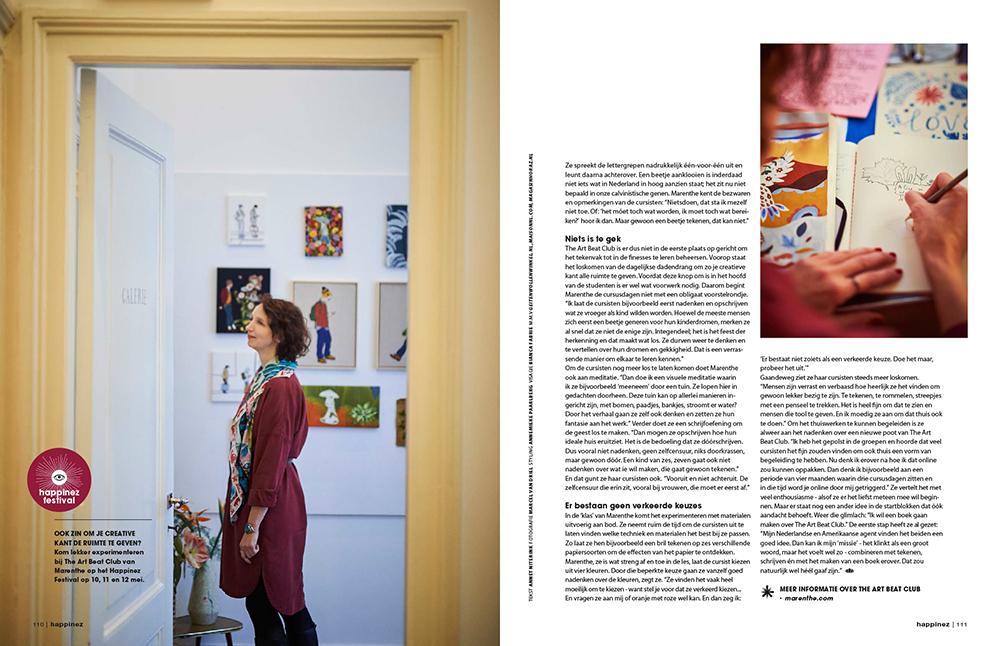 pagina 3 Happinez Marenthe interview.jpg