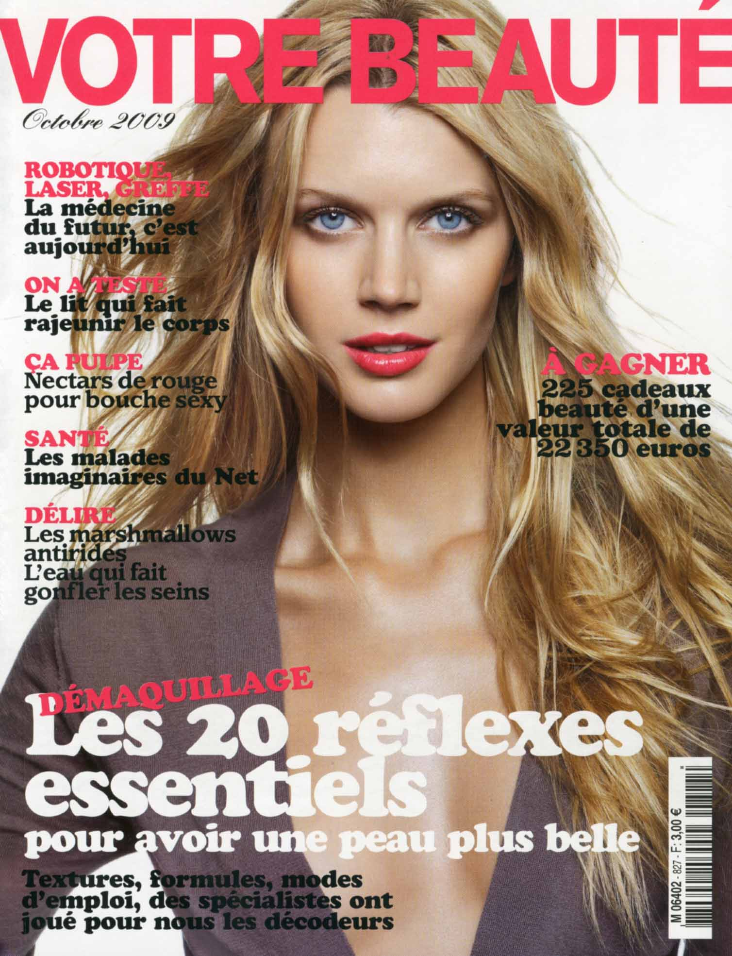 JAYNE MOORE in the cover of votre beaute Cover shot by Frederic Farre british bombshell jayne moore writer jayne moore jane moore