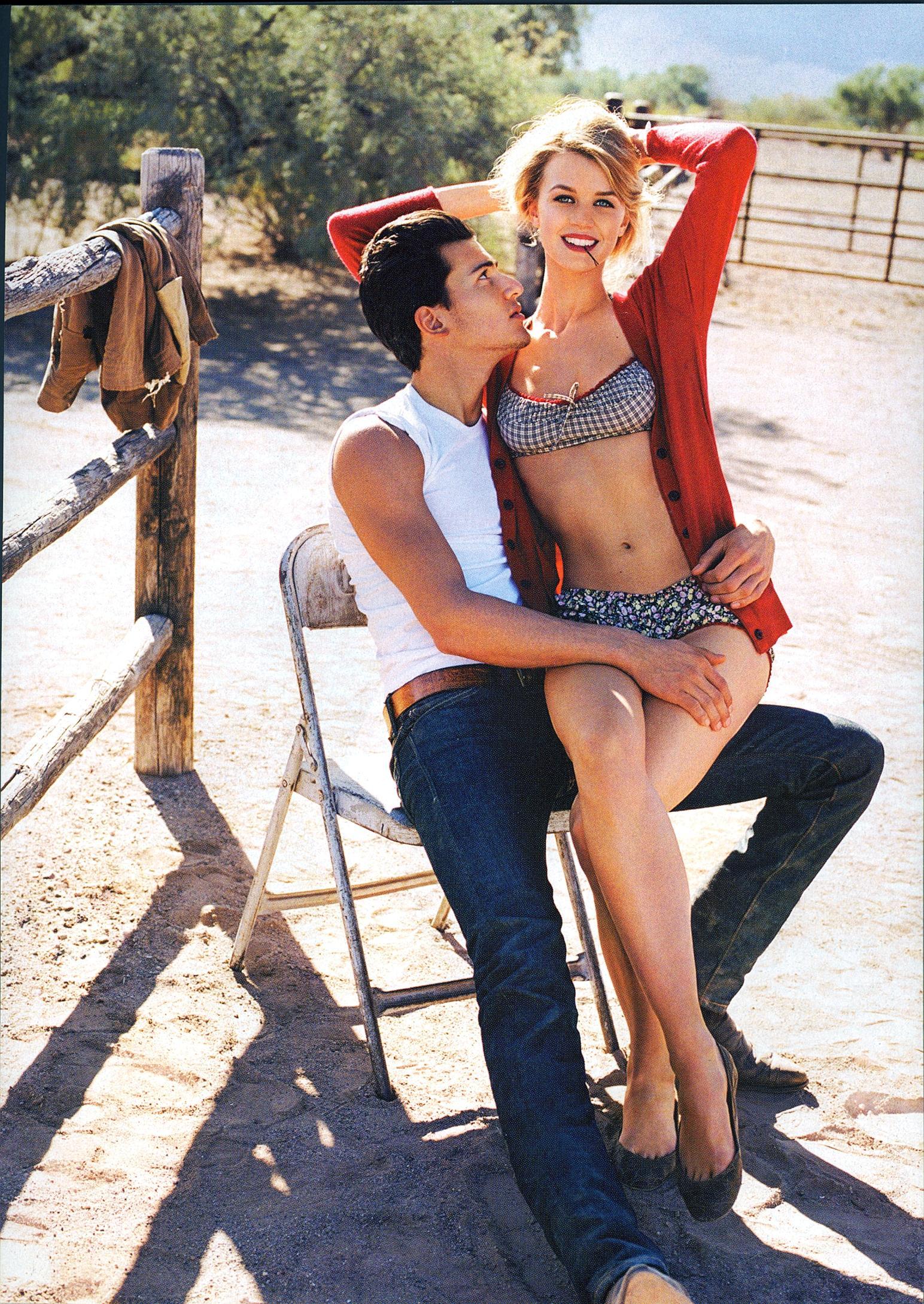 Pamela Hanson shoots Jayne moore for US Glamor Magazine Marilyn Monroe inspired fashion story the misfits marilyn monroe summer style summer love flirtation young love  cute lingerie shoot  with steve gold jayne moore