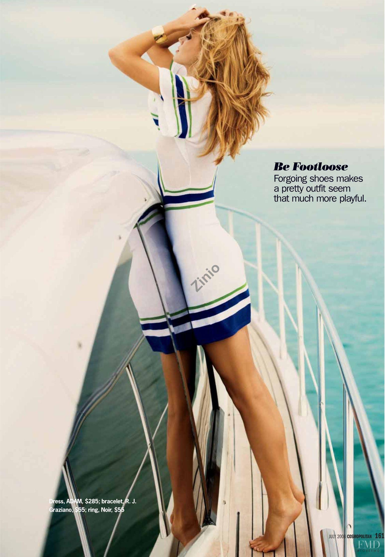 Jayne Moore Cosmopolitan Magazine Dean Isidro Beach style #yachtlife beach cover up great hair balayage Jayne Moore Jane Moore British model