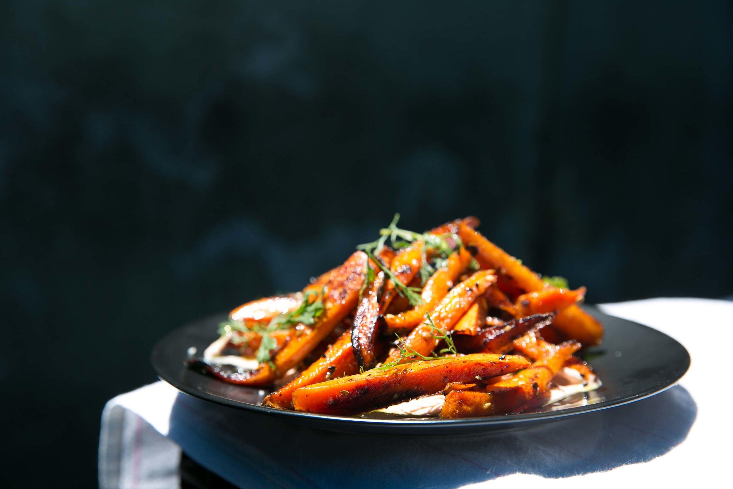 Carrots a la Plancha Massilia