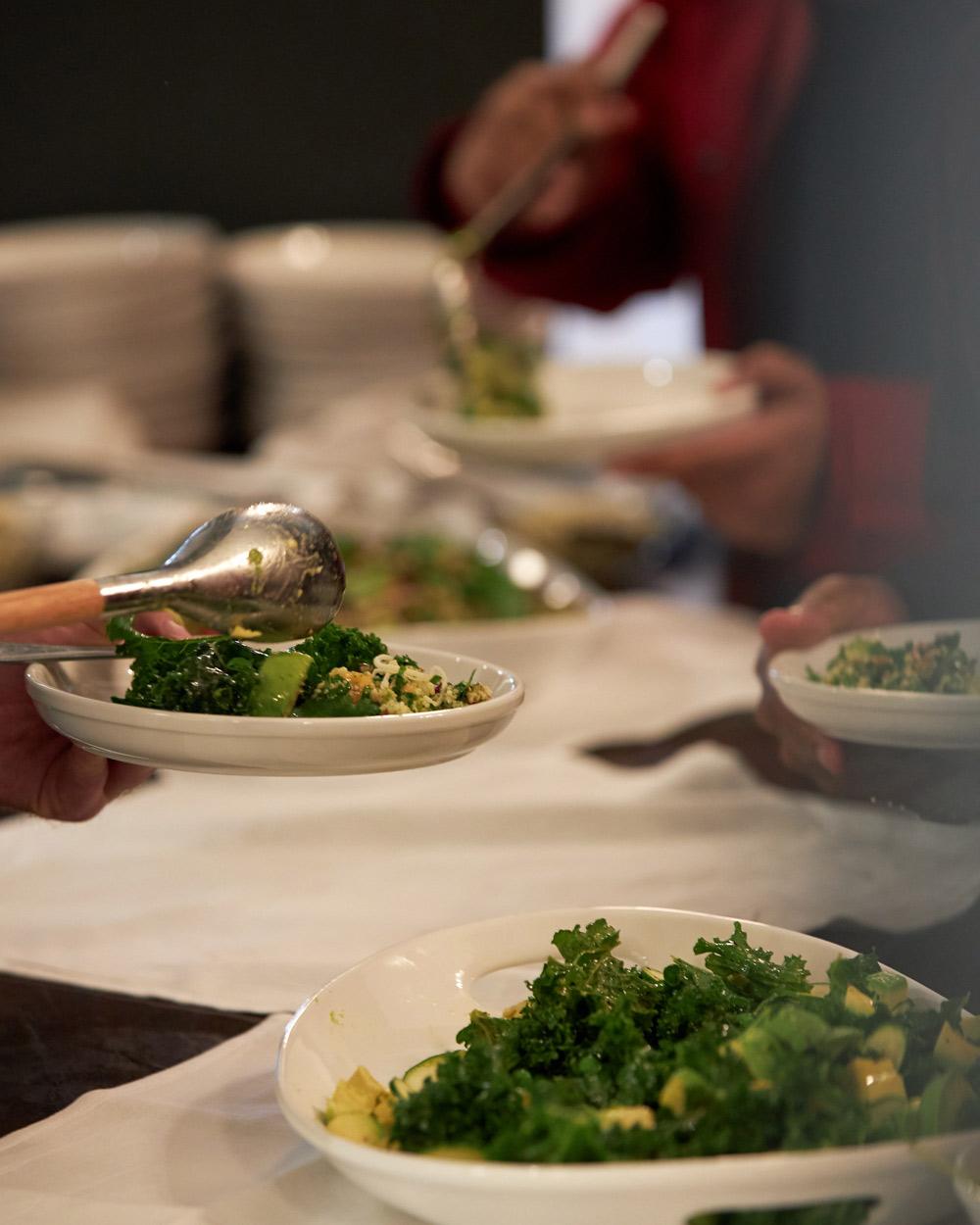 Market Greens Salad Massilia Santa Monica