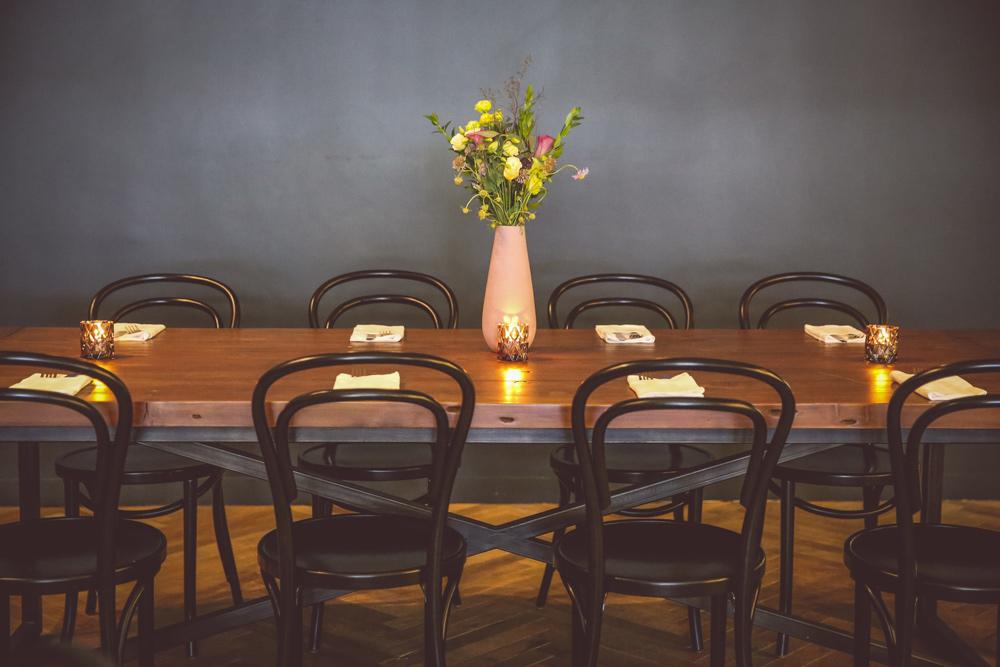 Seating Massilia Santa Monica French Restaurant