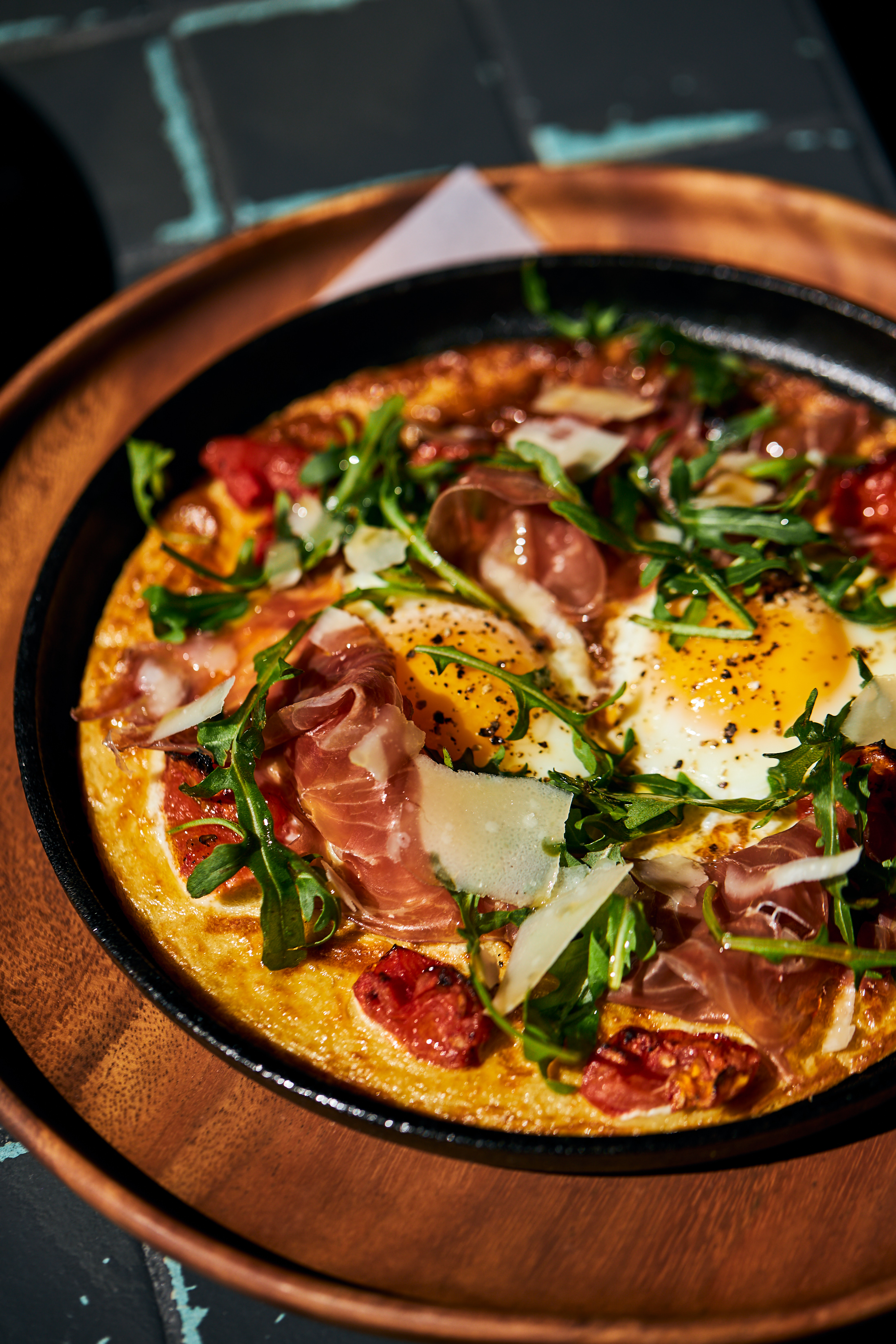 Breakfast Pizza Massilia Santa Monica Brunch