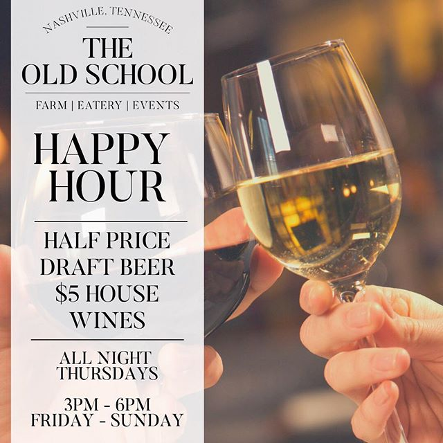 Happy hour is no longer just for the weekday 9-to-5'ers, y'all. Sit back, relax, and enjoy a couple of drinks and a few bites without breaking the bank.