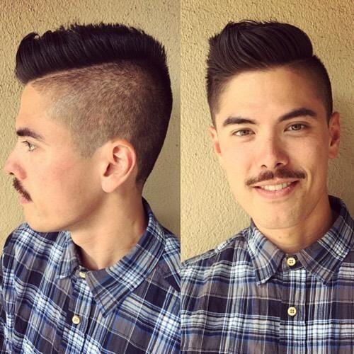 Handsome Bill. Miss you my friend.  #pdxstylist #pdxhairstylist #pdxhair #pdxmenshair #portlandhairdresser #behindthechair #americansalon #fireyourbarber #menshair #haircut #menshair