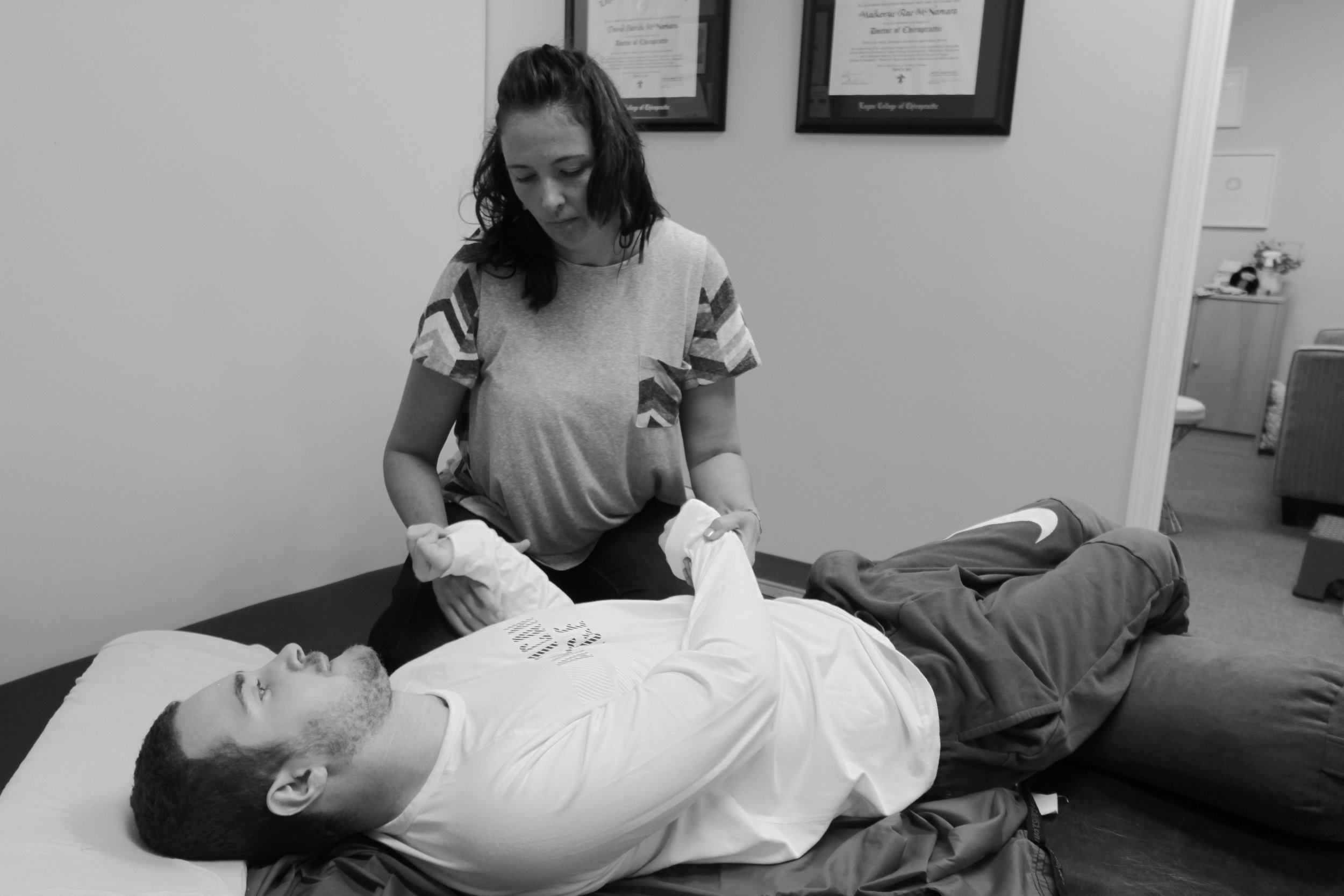 Tessa Thompson, a practitioner based in Indiana, works with Nadia in St. Louis.