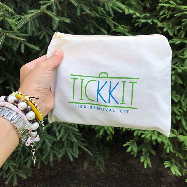 I've heard a bunch of stories over the last few weeks from friends who have found a tick either on themselves or on their child. 😡 Having a TICKKIT on hand can make a potentially scary situation less frightening and more manageable. There's no such thing as being too prepared!