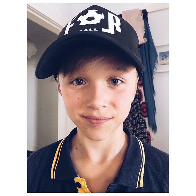 Thanks Dylan for buying a For Football cap 👊🏻❤️⚽️