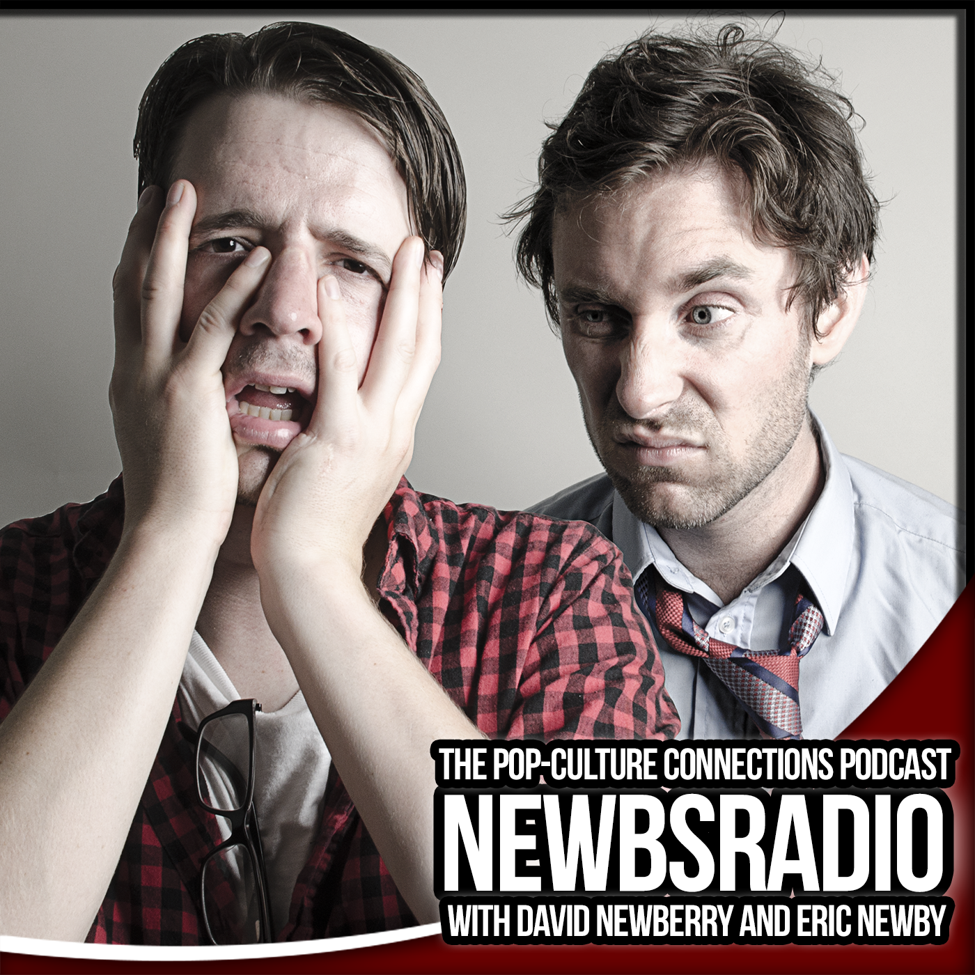First promotional imagery for NewbsRadio with David Newberry and Eric Newby