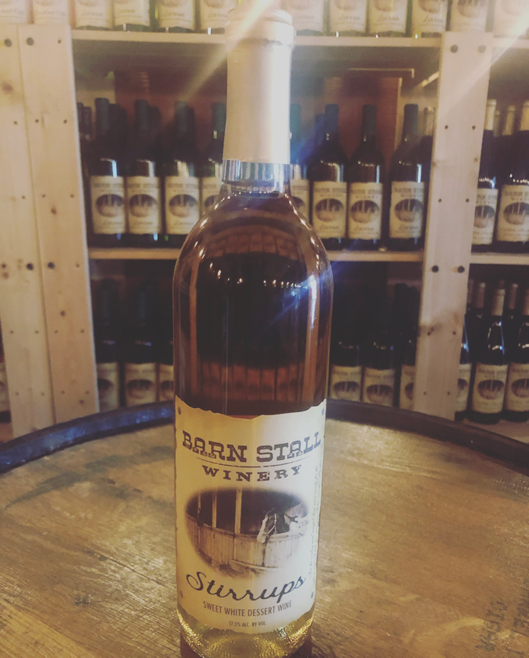 Stirrups - Sweet White Dessert Wine. For the cowboy and cowgirl that ain't ready for the night to end. A little bit stronger. A lot smoother. Bonfire ready. 17.5% alc