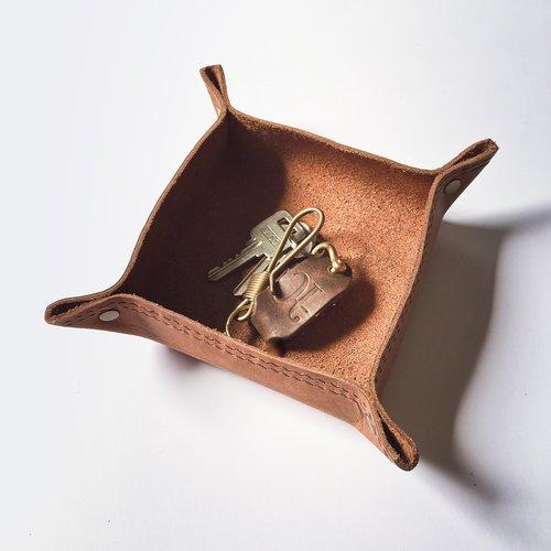 Minimalistic Leather Tray