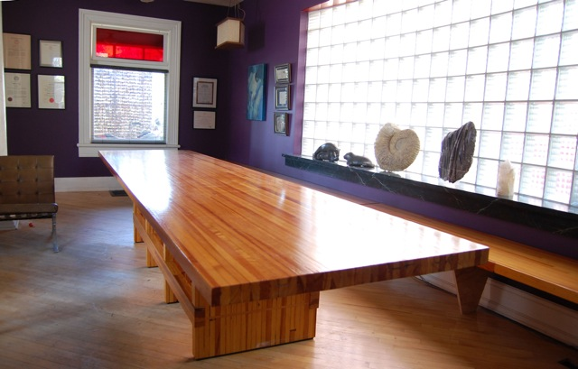 Reclaimed Bowling Alley