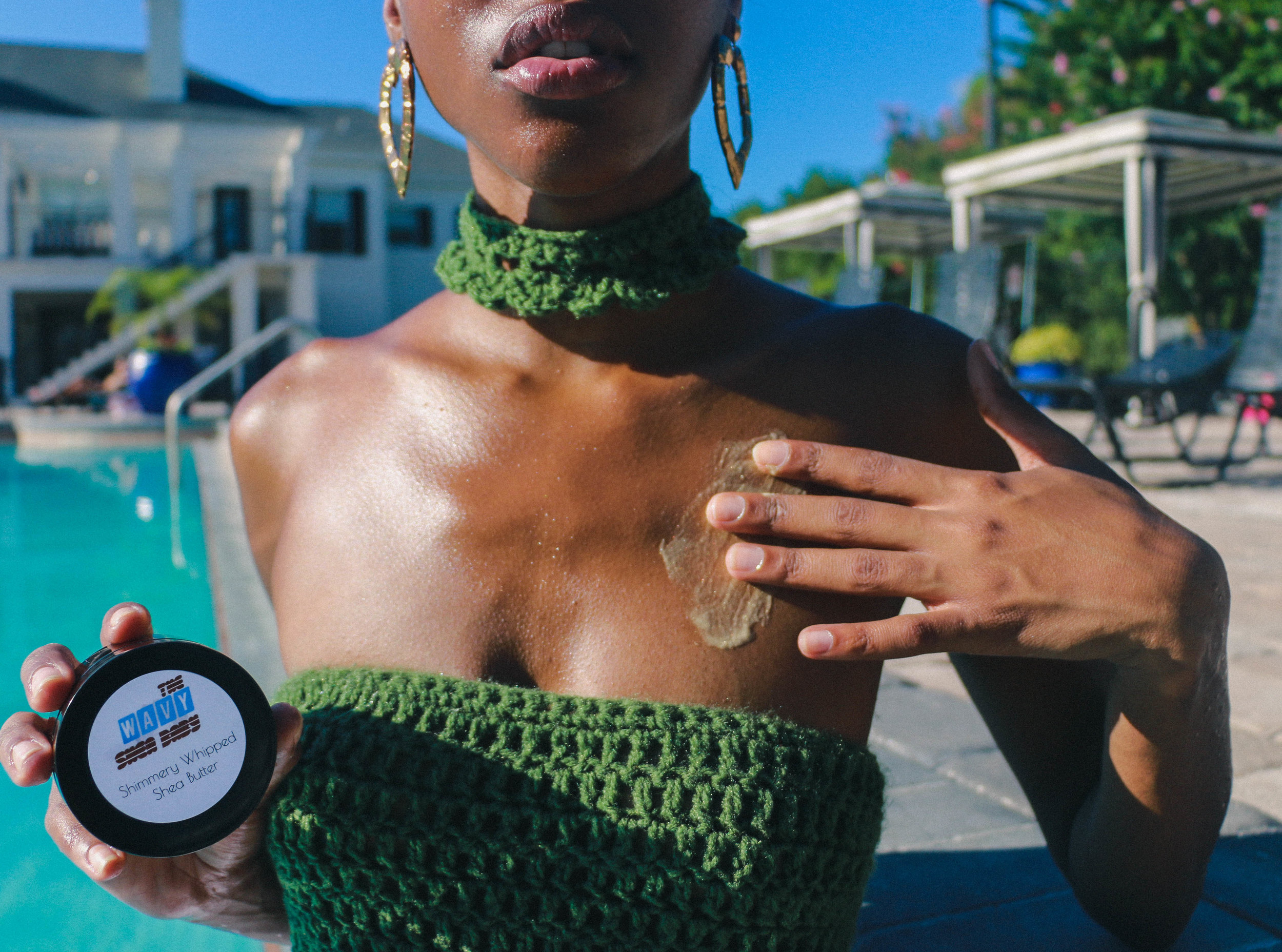 Shimmery Whipped Shea Butter -