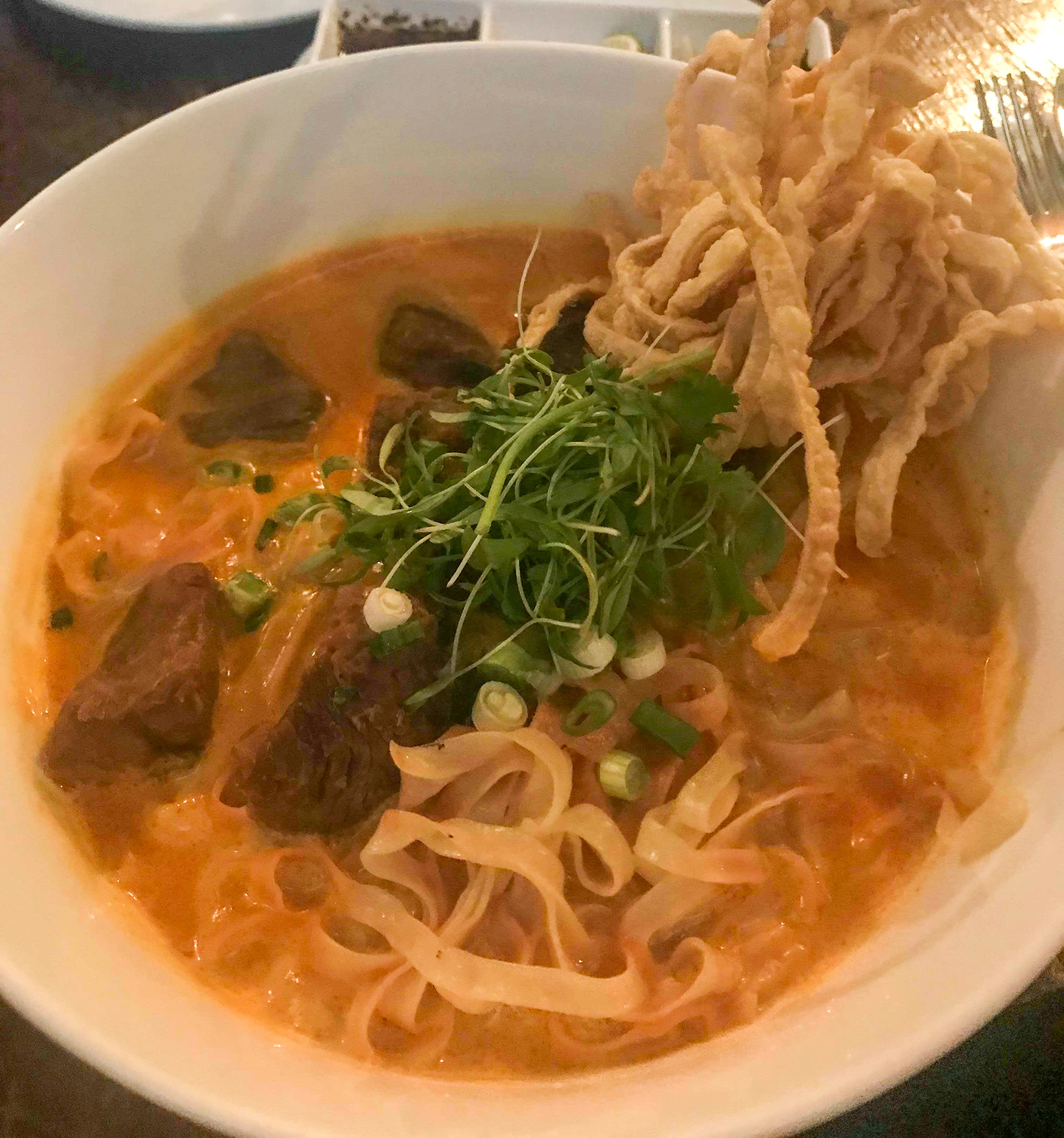 Khao Soi (for the coconut curry lovers)  P.C:  @TRAVELOCINDY