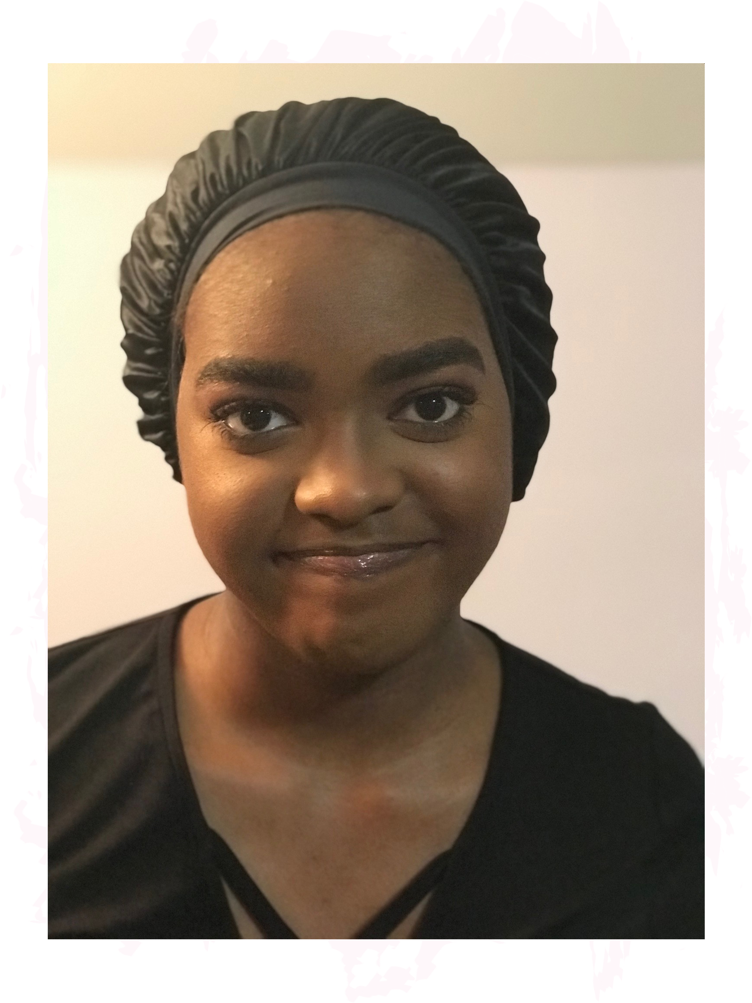 """Do you put your hair in a bonnet every day? - Do you like how you look?We never did either.That's why we created the """"wonnet"""".wonnet (wohn-it) noun:a hybrid hair protection product that combines a bonnet and a wig."""