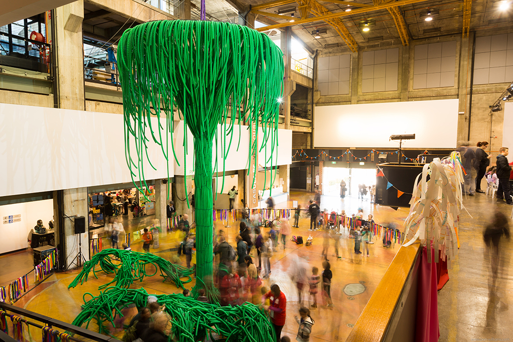 Pipe Dreams Green  at Casula Powerhouse