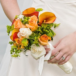 Calla Lily Mix Wedding Bouquet $70