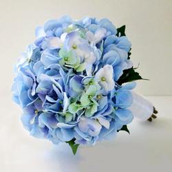 Classic (Small) Hydrangea Wedding Bouquet $70