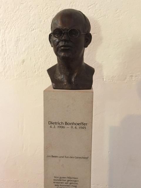 Bonhoeffer's Bust