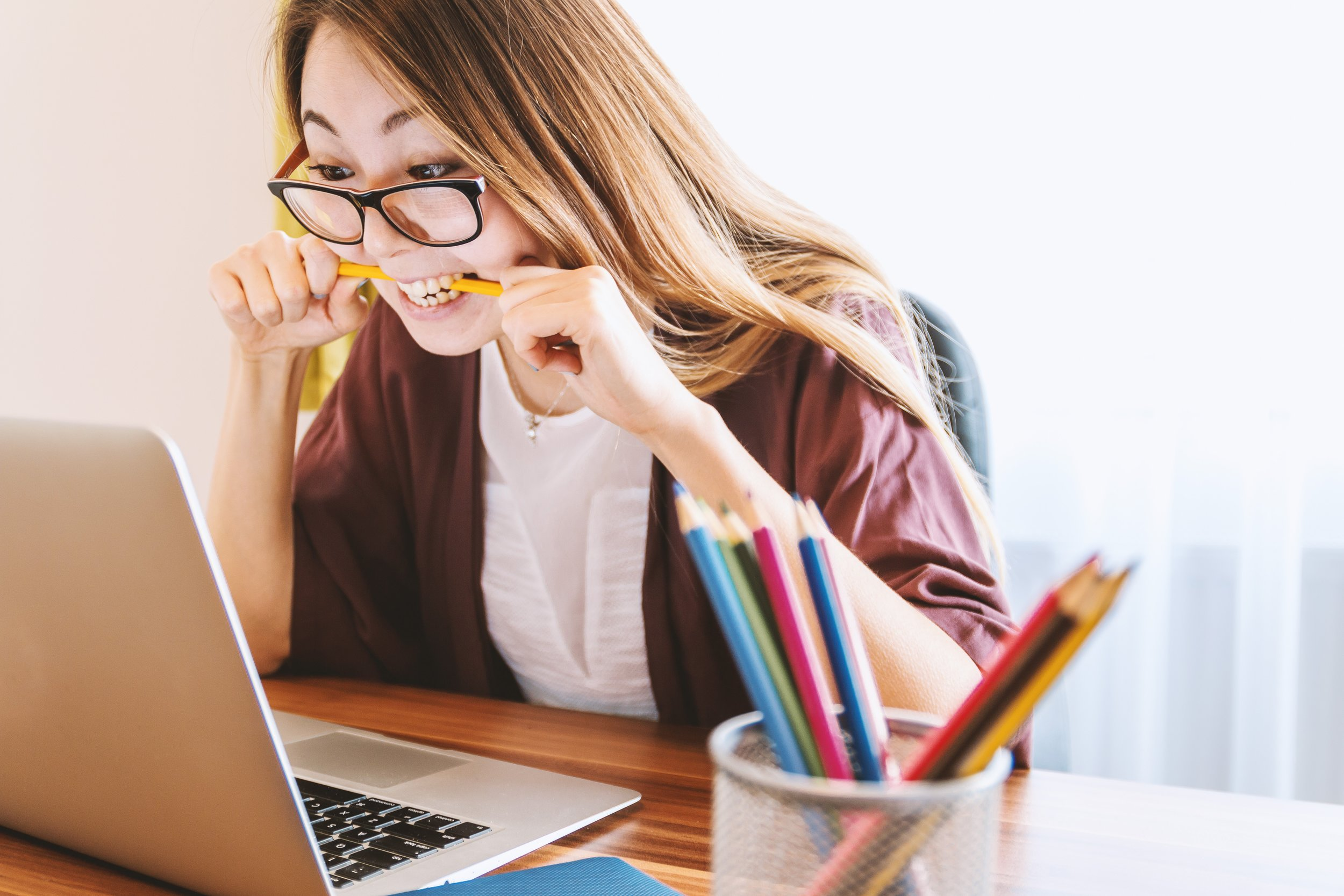 """Treat this as an opportunity to learn more about yourself and your writing, rather than a suggestion to do something """"better."""" The way you write is  your  best way! But there's always room to grow!"""