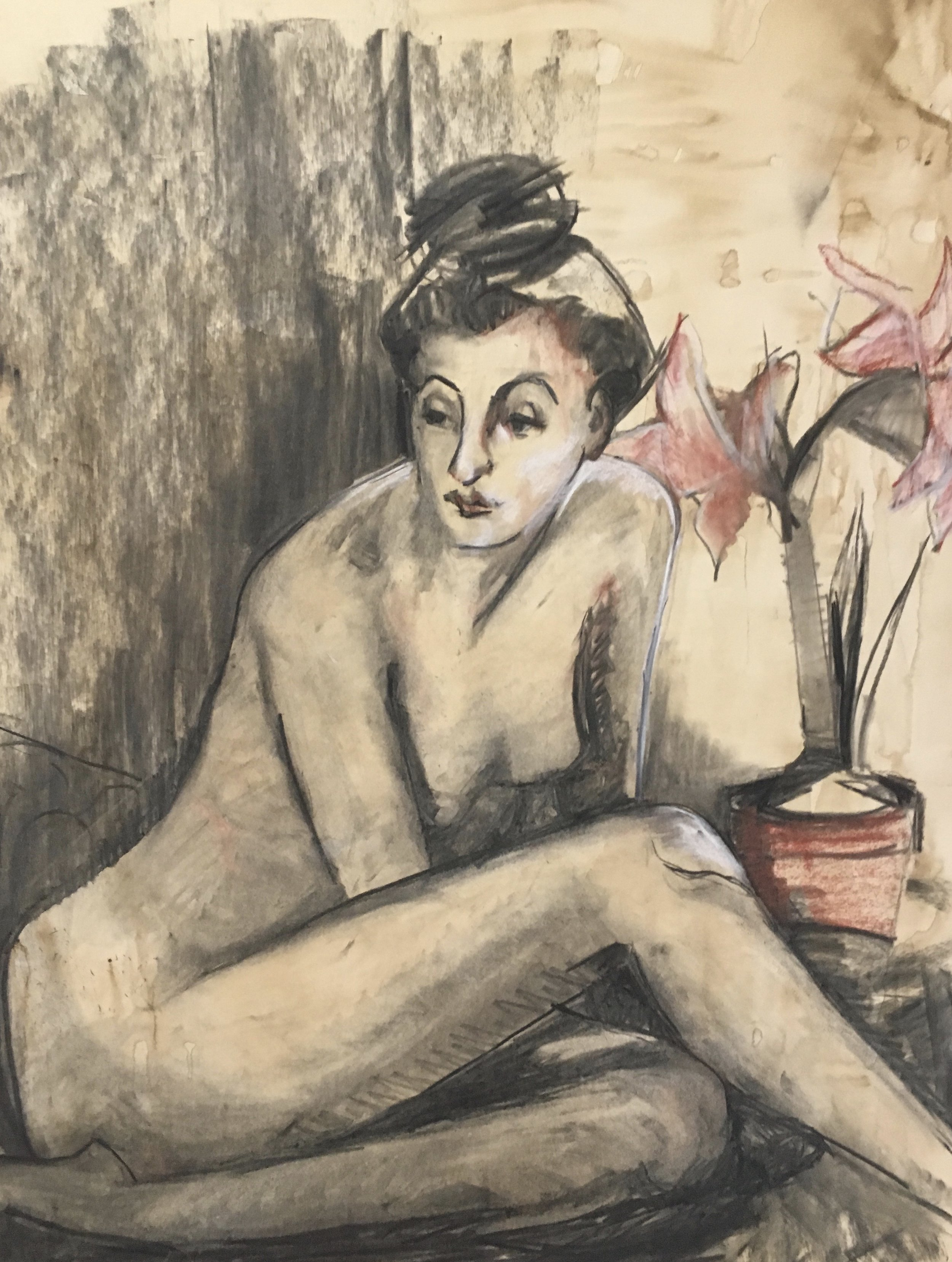 Seated Figure, Sue Termyn