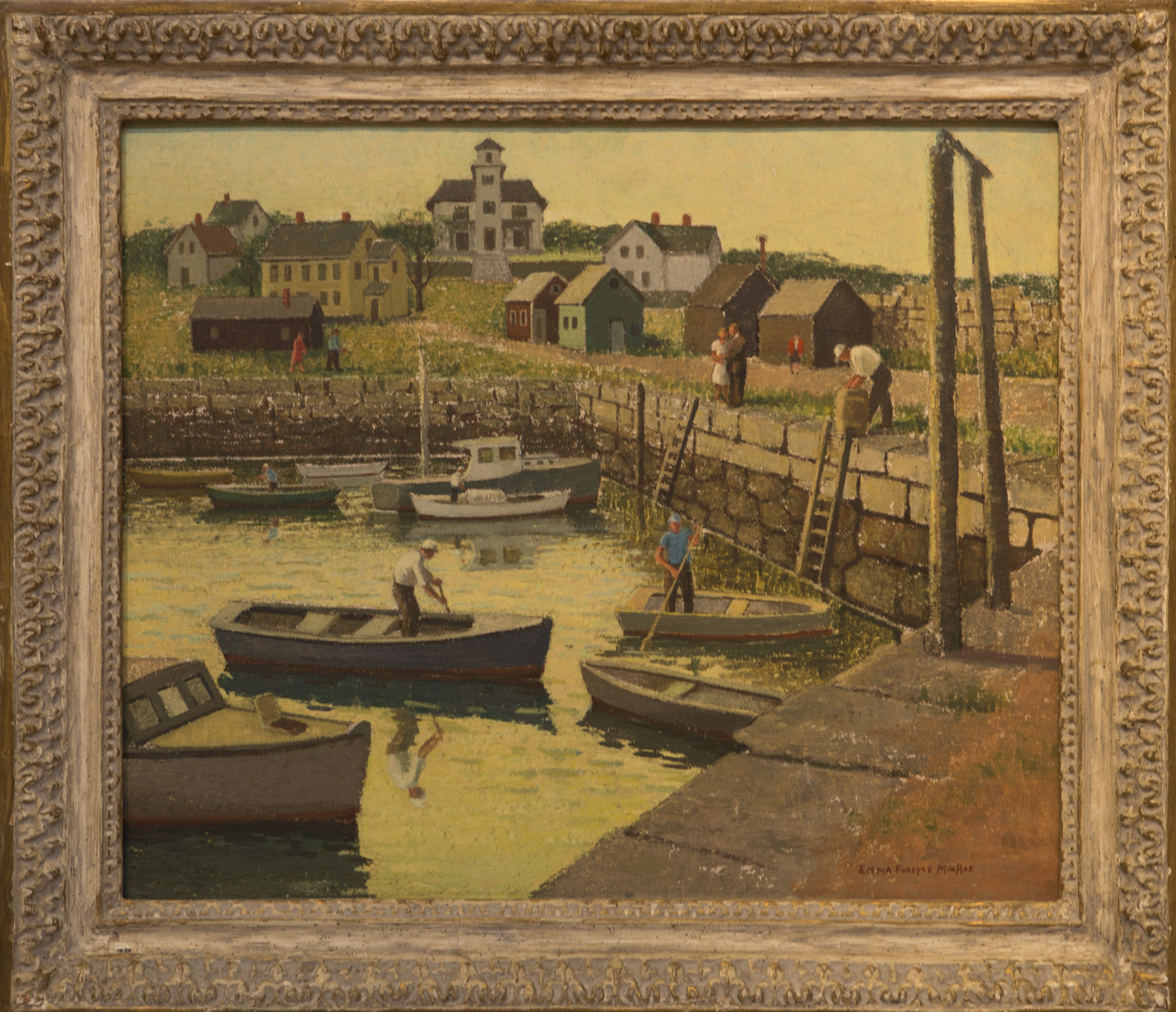 Lot # 153 : Fishermen at Pigeon Cove