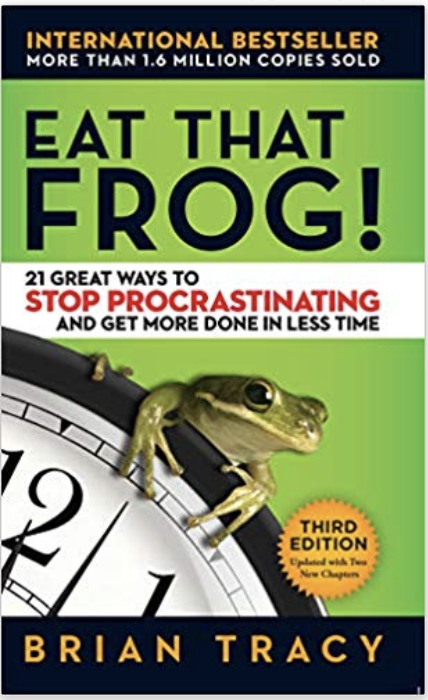 """ Eat that Frog "" by Brian Tracy  Productivity - Personal Development"