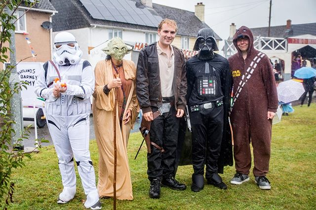 The force was strong with this entry #hartlandcarnival2018 #hartlandcarnival #starwars