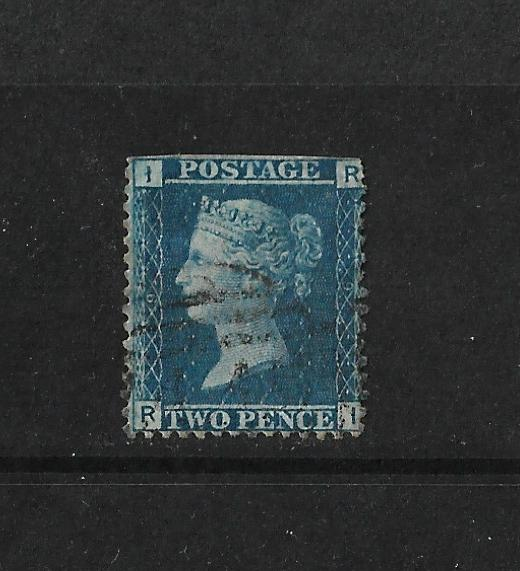 QV Two Penny Blue 2d - Plate 9.