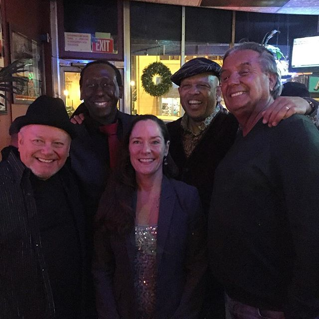 #paradigmshift  boys with Carm & Moe #rochester New Years Eve 2015