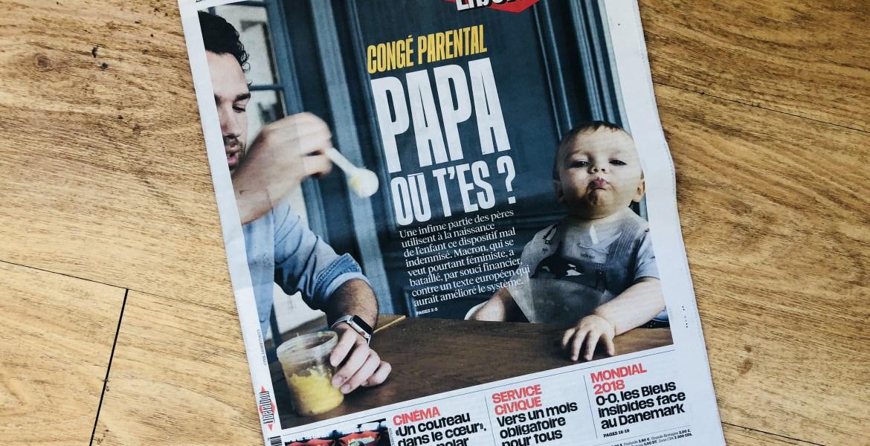 Patrice en Une du journal Libération