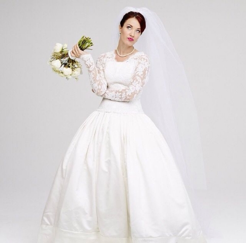 """*SIerra boggess, who starred as the jewish rebecca steingberg in Broadway's """"it shoulda been you"""""""